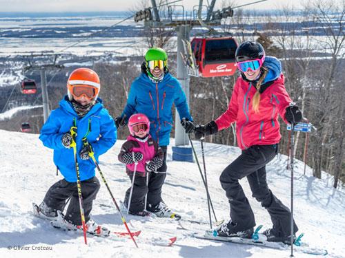 ski en famille au MSA