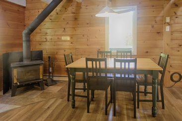 Chalet Après-Ski, salle à manger