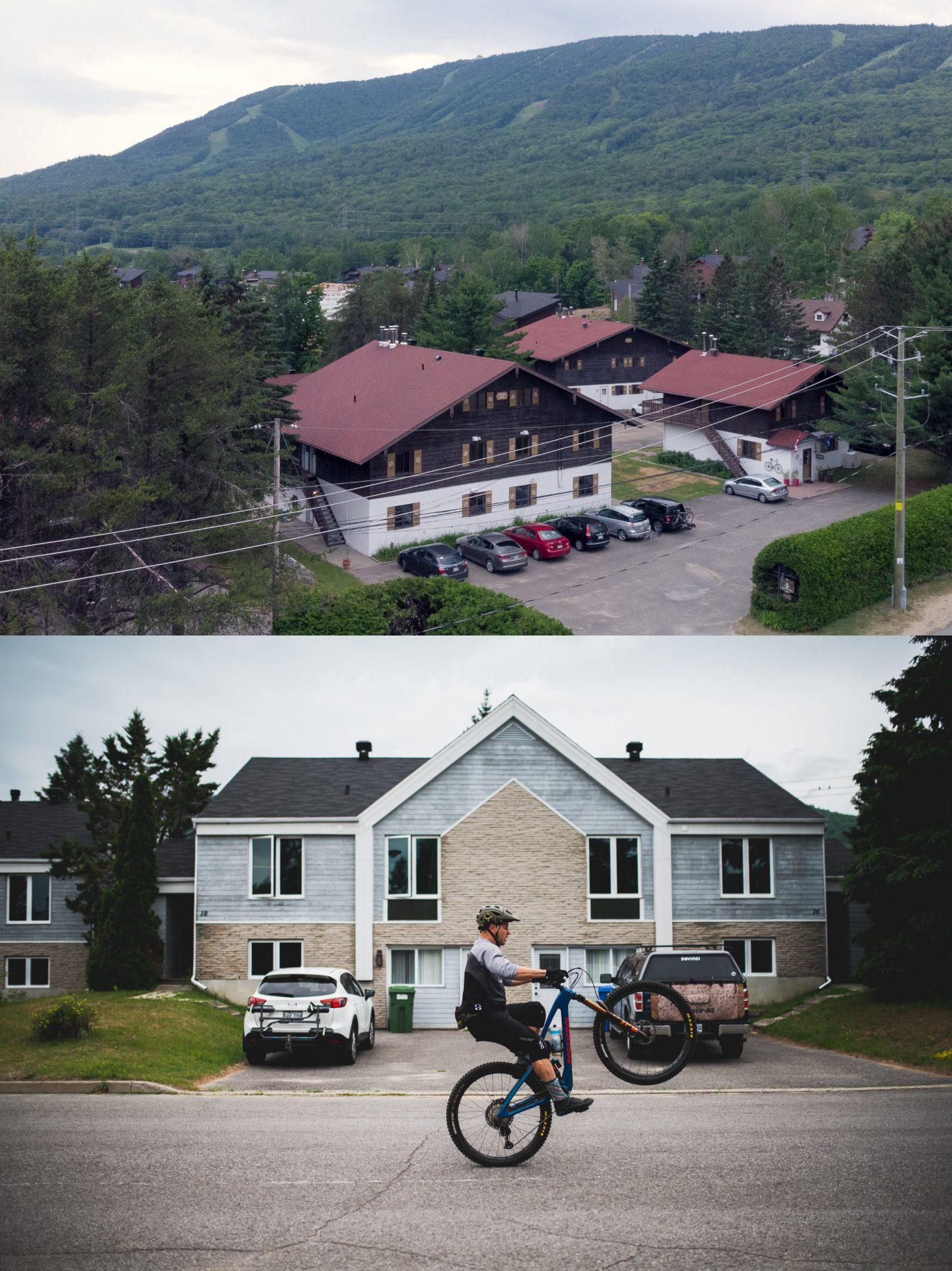 Enduro mountain biking at Villas Mont-Sainte-Anne